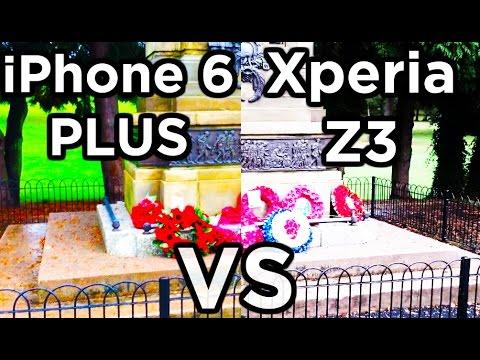 iPhone 6 Plus vs Sony Xperia Z3 Camera Comparison OIS vs DIS
