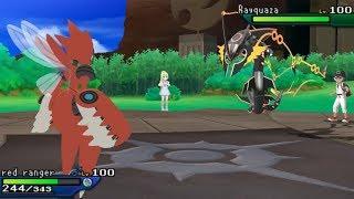 This is Mega Scizor! Pokemon Ultra Sun Ultra Moon!