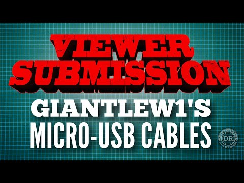 GiantLew1's micro-usb cables on test.