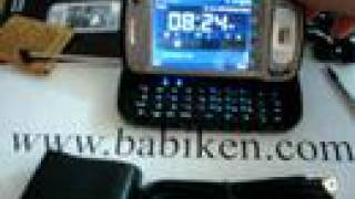 Babiken TV FM Mobile Cell Phone w/ computer keyboard