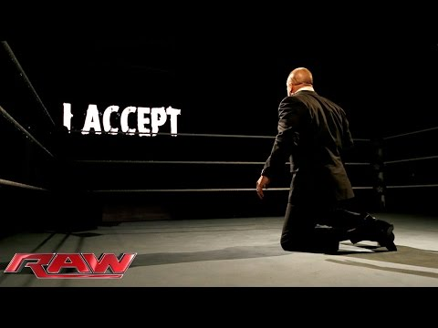 Sting responds to Triple H: Raw, February 9, 2015