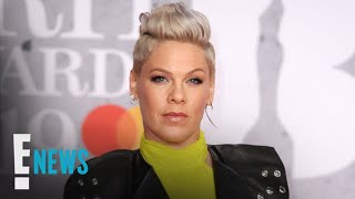 Pink Defends Photo of Kids Running in Holocaust Memorial | E! News