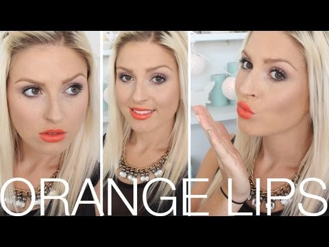 Chit Chat Getting Ready ♡ How To Rock ORANGE Lips!