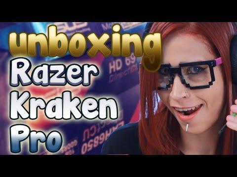Razer Kraken pro unboxing español latino