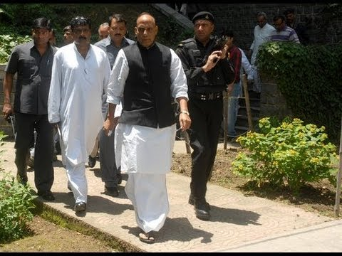 Rajnath Singh Visits Police Headquarters To Review Security