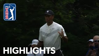 Tiger Woods' highlights | Round 2 | BMW Championship 2019