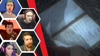 Let's Players Reaction To Reading Hannah's Scrawled Journal In The Mines | Until Dawn