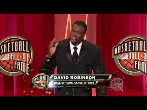 David Robinson's Basketball Hall of Fame Enshrinement Speech