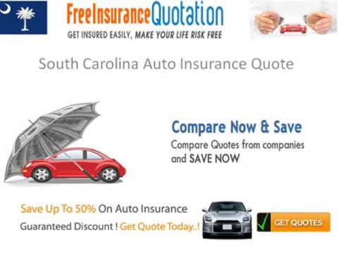 South Carolina Auto Insurance Requirements