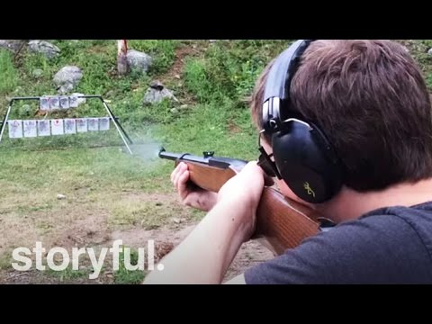 Playing The Star Spangled Banner With A Gun