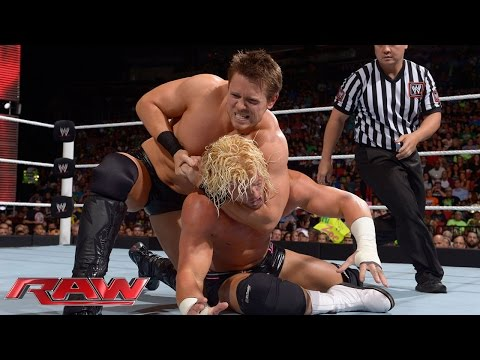 Dolph Ziggler vs. The Miz: Raw, July 21, 2014