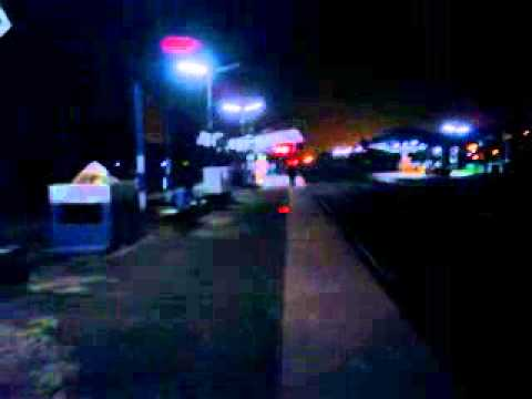 Rail Station Video At Night In Pakistan video