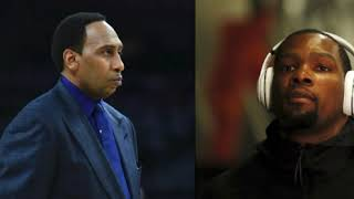 WHY DIDN'T STEPHEN A. SMITH KEEP THE SAME ENERGY WITH RAJON RONDO AS WITH KEVIN DURANT? (NO VIDEO)