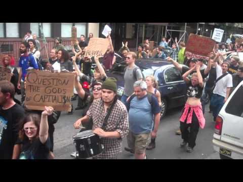 Occupy Wall Street demonstrations shut down NYC streets
