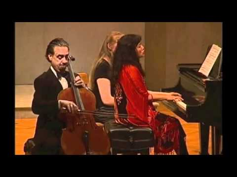 Rachmaninov Vocalise, David Finckel and Wu Han at Union College