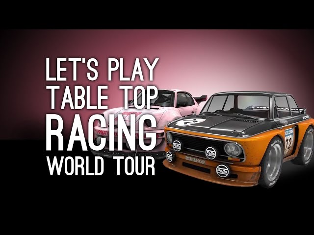 Руководство запуска: Table Top Racing World Tour по сети