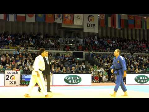 JUDO GRAND PRIX Dsseldorf 2013 - -81 KG Benni Mnnich GERMANY vers. Kim J.-Bum KOREA