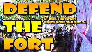 BATTLE for the FORT at HELL SURVIVORS!!!