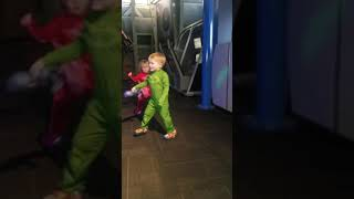 Pj Mask dance party at Wonderworks