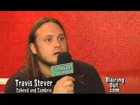 Coheed and Cambria's Travis Stever talks with Eric Blair part 1