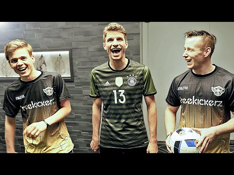 Football Challenge vs Thomas Muller & Christoph Kramer