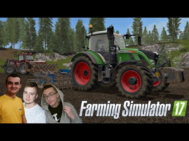 "Uprawa i siew kukurydzy ㋡☆Farming Simulator 17 ""od Zera do Farmera"" #105 ㋡MafiaSolecTeam"