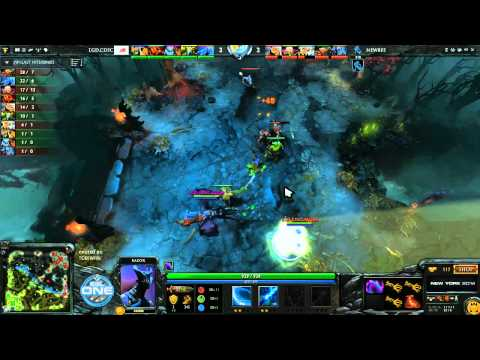 NewBee vs LGD CDEC - ESL One New York CN Qualifiers @TobiWanDOTA