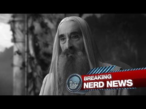 Adeus Saruman! Christopher Lee morre aos 93 anos | Breaking Nerd News