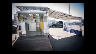 Custom Upfits Solar Powered Automotive Reconditioning Trailer