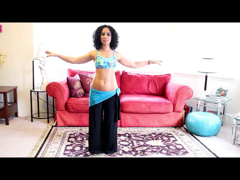 Belly dance arms and hands: the posture