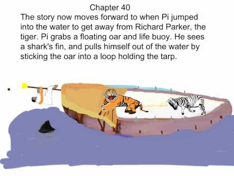 Life of Pi - Summaries of Chapters 37-46