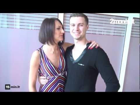 Katažinos Nemycko ir Dainiaus Rimšos šokių repeticija