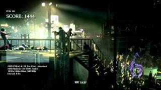 Resident Evil 6 PC Benchmark on XFX Radeon HD 6770
