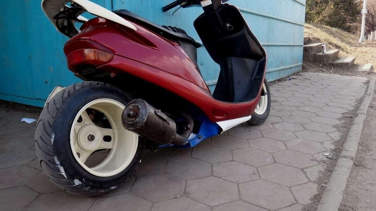 Тюнинг скутера в домашних условиях фото