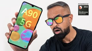 Samsung Galaxy A90 5G - The Most Affordable 5G Smartphone from Samsung
