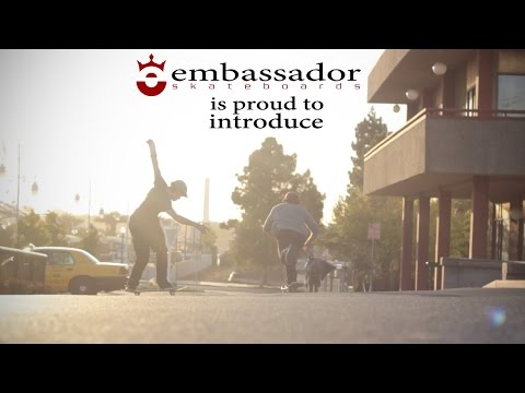 Embassador Skateboards: Introducing Dean-Paul Denniston & Justice Kellenberger