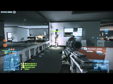 Battlefield 3 Close Quarters Conquest Domination Gameplay 44 HD