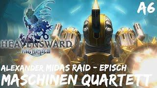 Final Fantasy 14: Heavensward | 🏰 Maschinen Quartett