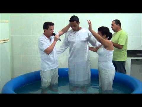 Batismo nas Águas - IAAP - 01/04/2012