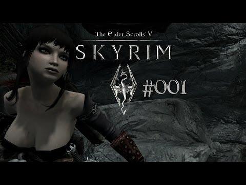 Skyrim - 001 - Confrérie Noire 001 - 1ere Rencontre