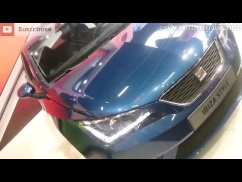 2013 Nuevo SEAT Ibiza Style walk around price specifications car showroom FULL HD