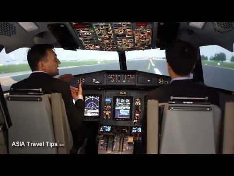 ATR 72-600 Flight Simulator Singapore Airshow 2014 - HD