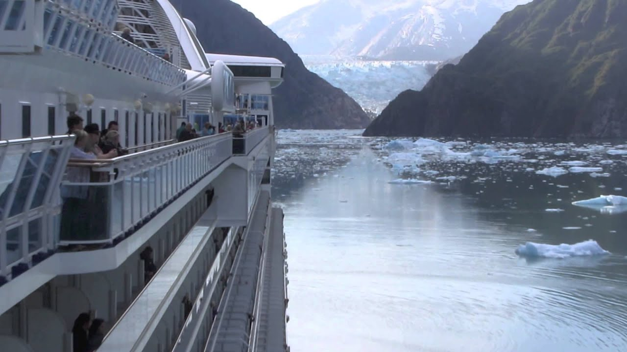 Paul Hodge Extreme Alaska Cruise Tracy Arm Fjord Ch 9