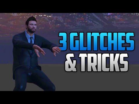 GTA 5 Online - 3 NEW GLITCHES & TRICKS (Jump Through Any Wall, Ride-Along Glitch & Secret Location)