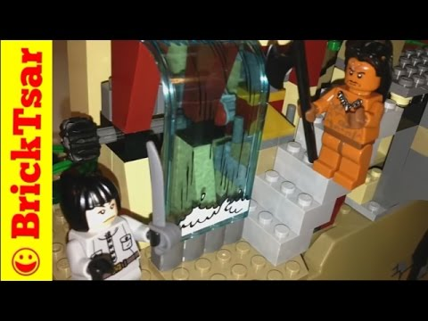 Lego Indiana Jones 7627 Temple of the Crystal Skull from Kingdom of Crystal Skull 2008