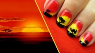 The Lion King Design Tutorial &#8211; A CutePolish Disney Exclusive