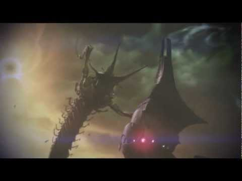 (HD) Mass Effect 3: Reaper vs Thresher Maw