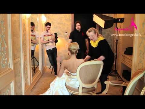 Wedding Dresses Photo Shoting Backstage for Ingrida