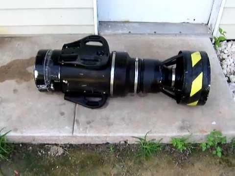 Underwater Propulsion Scooter Homemade Youtube
