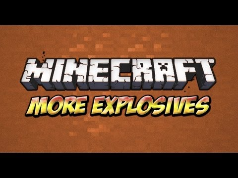 Minecraft: How To Install More Explosives Mod 1.5.2